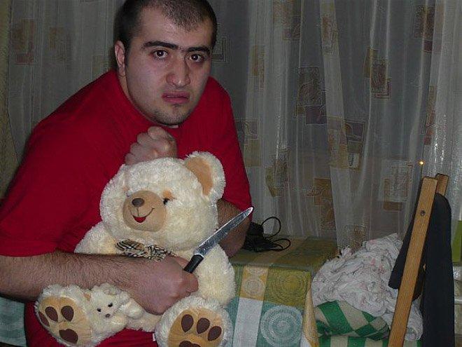 Orosz társkereső profilkép